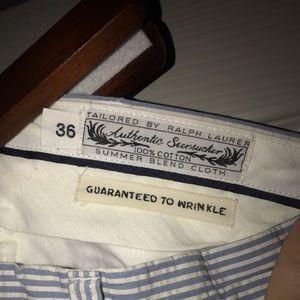 Polo Ralph Lauren Seersucker pants W36